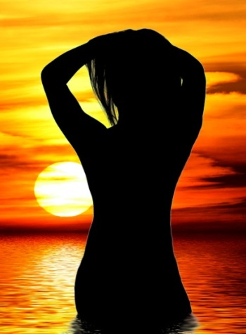 woman-at-sunset