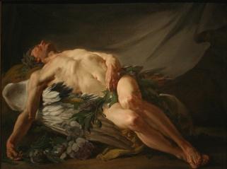 Restout.Jean-Bernard.1736-1796MorpheusorSleep.BR